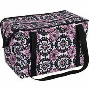 Defect Thirty one Fresh Market Thermal tote picnic bag 31 in Pink pop medallion