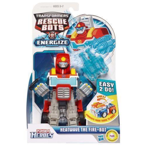 Rescue bots heatwave toys hobbies ebay - Playskool helmet heroes police officer ...