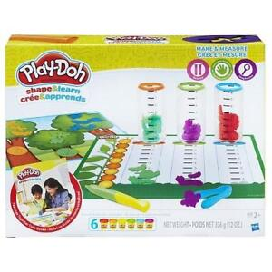 NEW PLAY-DOH MAKE AND MEASURE PN00008321 217773079 SHAPE AND LEARN PLAYDOH KIDS TOY