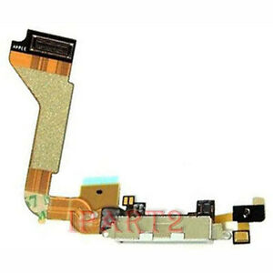 Charger-Charging-Dock-Port-Connector-with-Flex-Cable-for-Apple-Iphone-4-White