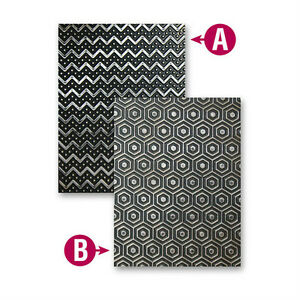 Spellbinders M-Bossabilities Trendy Reversible Emboss folder-10