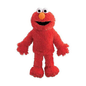 Sesame Street Plush - Full Body Puppet - ELMO (15 inch) - New Stuffed Animal Toy