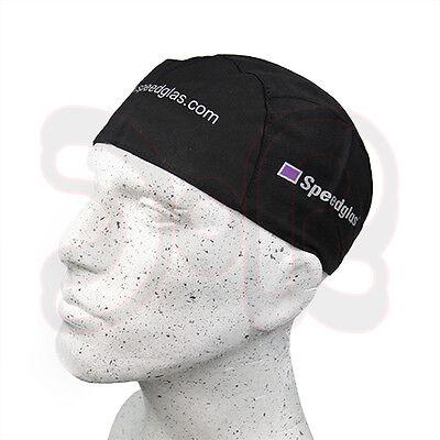 SPEEDGLAS Schweißermütze schwarz Kopfhaube Kopfschutz Schweißhelm Schweißschirm