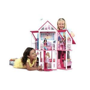Barbie doll house ebay large barbie doll house publicscrutiny Choice Image