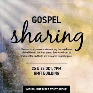 Bible Gospel Sharing @ Multicultural Hub (Melbourne CBD) Carlton Melbourne City Preview