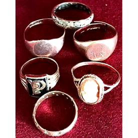 9ct gold rings scrap or use