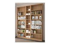 Bookcase Ikea Billy Tall Home Office Storage Student Flat Shop £20 Each ( No Contents !)