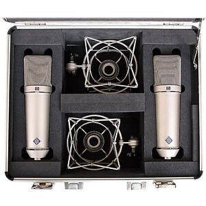 Neumann U87 Microphone Stereo Set