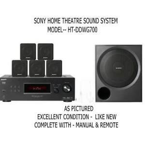 Sony Surround Sound System HT-DDWG700