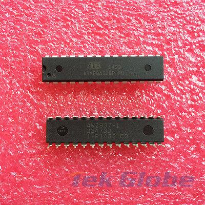 1pcs Original Atmega328p-pu Mcu Avr 32k Flash Atmel Dip28 Ic