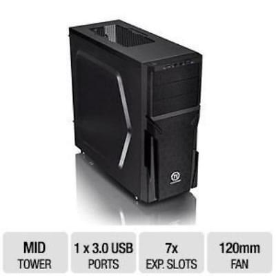 Thermaltake Versa H21 SPCC ATX Mid Tower Computer Chassis CA