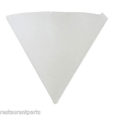 Filter Paper Cone 10 Diameter 11 Tall 50-count Deep Fryer New 63313