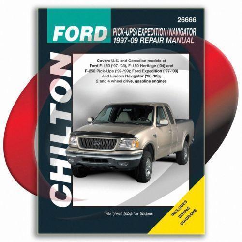 2001 lincoln navigator service manual