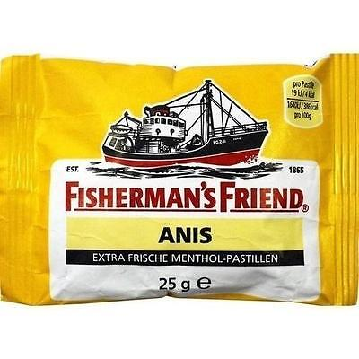 Fishermans Friend Pastillen (FISHERMANS FRIEND Anis Pastillen 25 g)