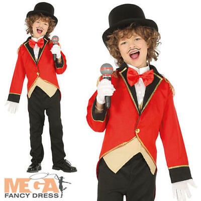 Ringmaster Boys Fancy Dress Circus Showman Kids Tamer World Book Day Costume ](Boys Ringmaster Costume)