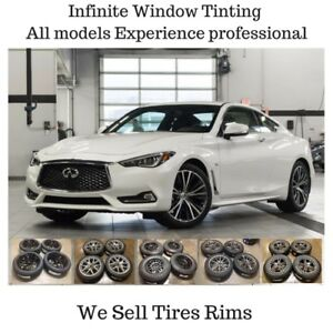 OPEN WEEKENDS Infiniti Cars SUV CROSSOVER Window Tinting