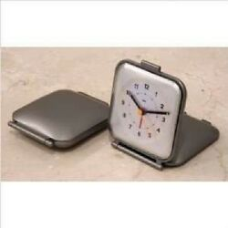 Bai Design Square Folded Travel Alarm Clock 516.EL WHITE