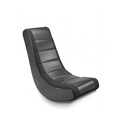 Gaming Chair Rocker Movie Seat Ergonomic Video Game TV Reading Relaxing Black