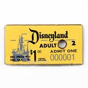 Disney Pins Admit One