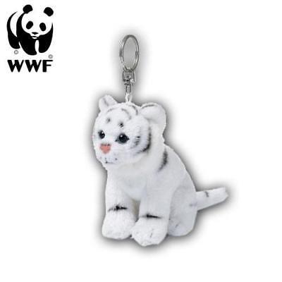 WWF Colgantes Tigre Blanco (10cm) Llavero Peluche Animal de Tela
