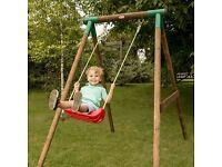 Little Tikes Single Wooden Swing - Brand New