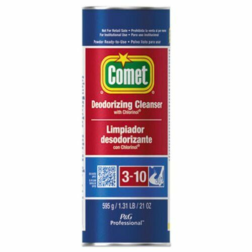 Comet Deodorizing Cleanser with Chlorinol, 21-oz, 24 Canisters (PGC 32987)