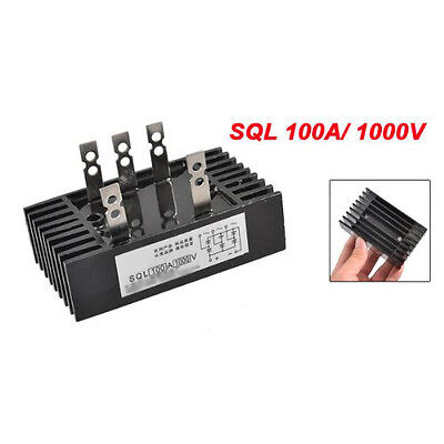 Sql 100a 3 Phase Bridge Rectifier Metal Case 1000v Diode Bridge Rectifier Szhkus
