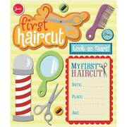 1st Haircut Scrapbook