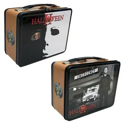 Halloween 2 Tin Tote Lunch Box - Halloween Lunch Box