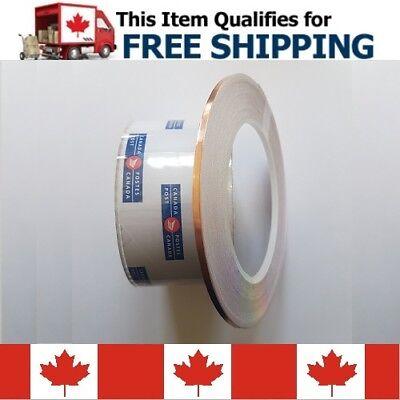 3mm X 30m Emi Electric Conductive Copper Foil Shielding Tape Strip Adhesive