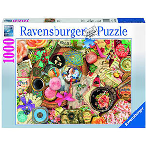 RAVENSBURGER PUZZLE 1000 COLLAGE D'ANTAN COMME NEUF