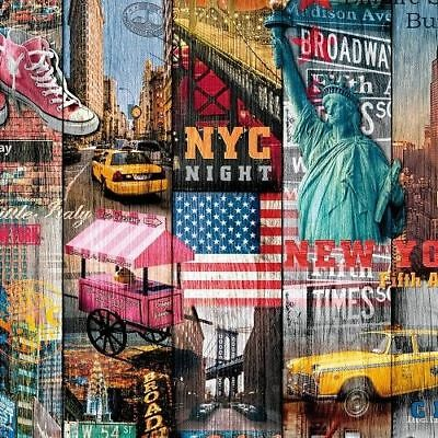 DC FIX NYC NEW YORK CITY STICKY BACK PLASTIC SELF ADHESIVE VINYL FILM WRAP