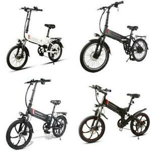 Weekly Promotion! NEW High Quality   20 Aluminum alloy Folding eBike,  White/Black $1299(was $1799)   (sale end:M