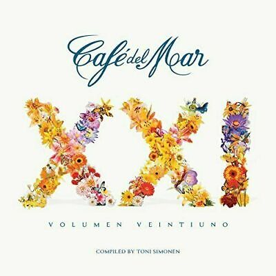 Ibiza Cafe del Mar XXI - Volume 21 (2015)  2CD Chill out Gift Idea OFFICIAL NEW