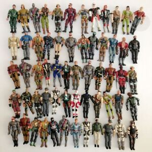Random Lot G.I. JOE VS Cobra 10X Pcs Figure & 20pcs Weapon