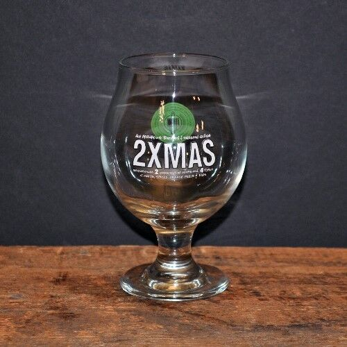Southern Tier Brewing Company 13 oz. 2XMAS Goblet. Used.