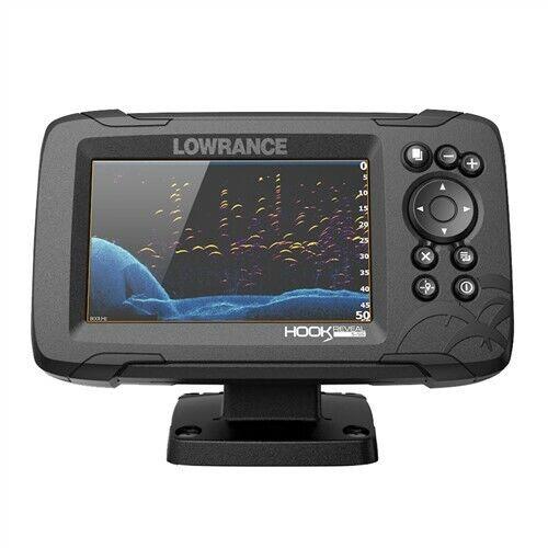 Lowrance HOOK Reveal 5x Fishfinder w/SplitShot Transducer GPS Trackplotter
