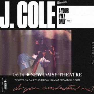 J Cole Vip Tickets: Under 18s, Sydney 5th