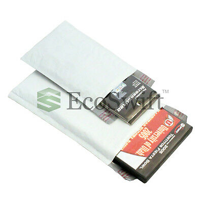 """500 #000 4x8 Poly Bubble Mailers Padded Envelope Shipping Supply Bags 4"""" x 8"""" on Rummage"""
