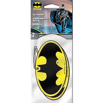 Plasticolor 005499R01 DC Comics Batman Logo Air Freshener