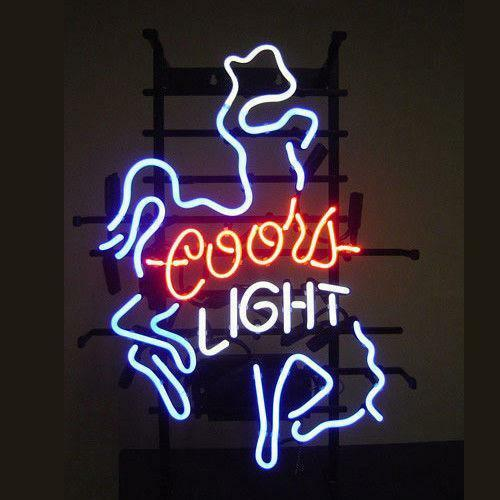 Coors Light Neon Sign Ebay