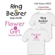 Flower Girl Wedding Shirts
