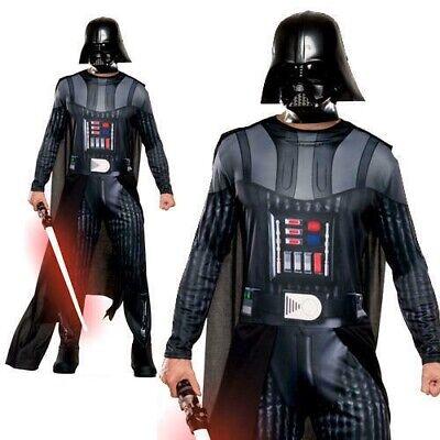 Herren Darth Vader Erwachsene Kostüm Star Wars Villain - Herren Darth Vader Kostüme