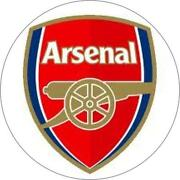 Arsenal Cake Topper