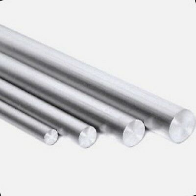 Aluminium Round Barrod 456810121620mm Diameter In Many Lengths