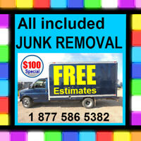 $99 _Affordable + Reliable Friendly garbage.. JUNK REMOVAL