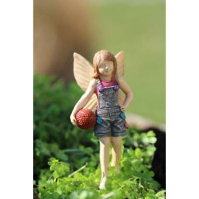 Miniature Dollhouse Fairy Garden Fairy Kyli The Basketball Tomboy Fairy 1667