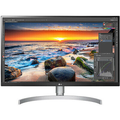 LG 27UL850-W 27 inch 4K UHD IPS LED Monitor with VESA DisplayHDR 400