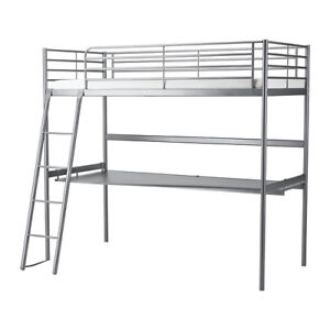 Ikea bunkbed loftbed with desk. Brand new