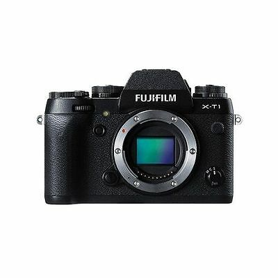 BRAND NEW Fujifilm X-T1 Mirrorless 16.3MP DSLR Camera Body, Black W/ Warranty